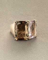 H Stern - Cobblestone Two-stone Ring - Lyst