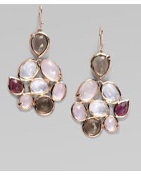 Ippolita 18k Gold Semi-precious Multi-stone Cascade Earrings - Lyst
