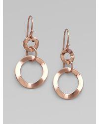 Ippolita 18k Gold & Sterling Silver Earrings - Lyst