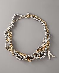 Marc By Marc Jacobs - Miriam Multi-strand Necklace - Lyst