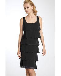 Patra | Beaded Iridescent Chiffon Dress | Lyst