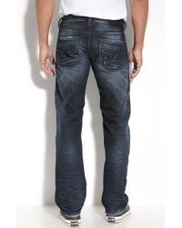 Diesel Larkee Straight Fit Jeans (880f Wash) - Lyst
