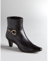 Ak Anne Klein - Greta Side Buckle Boots - Lyst