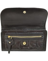 Alviero Martini 1A Classe - 1a Prima Classe Fjords - Stamped Leather Flap Wallet - Lyst