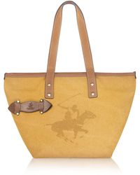 Beverly Hills Polo Club - Cross Country - Medium Canvas Tote - Lyst