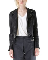 Blk Dnm Leather Jacket 1 - Lyst