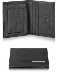 Bric's - Pininfarina - Signature Leather Card Holder Id Wallet - Lyst
