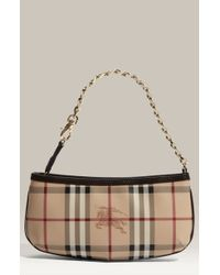 Burberry Check Print Mini Shoulder Bag - Lyst