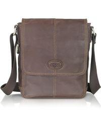 Fossil - Desperado - Leather City Bag - Lyst
