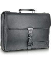 Giorgio Fedon - Grained Leather Briefcase - Lyst