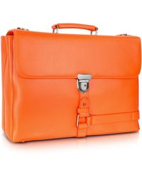 Giorgio Fedon - Wall Street - Grained Leather Briefcase - Lyst