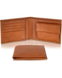 Moreschi - Mens Genuine Leather Billfold Wallet - Lyst