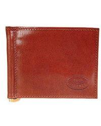 Robe Di Firenze - Leather Credit Card Holder W/money Clip - Lyst