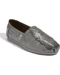 TOMS Classic Sequins Slip-on (women) (nordstrom Exclusive) - Lyst