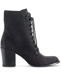 Vince Camuto Vestas High-heel Leather Boots - Lyst