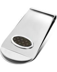 Zoppini - Kimana - Diamond and Stainless Steel Bangle Bracelet - Lyst