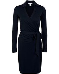 Diane von Furstenberg New Jeanne Two Matte Jersey Wrap Dress - Lyst