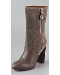 Juicy Couture - Randi Suede High Heel Boots - Lyst