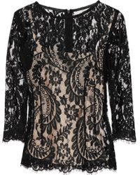 Lover - Serpent Lace Top - Lyst