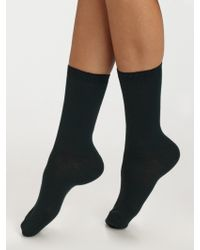 Maria La Rosa Short Knit Socks - Lyst