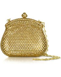 Forzieri Evening Mini Hard Clutch W/Chain Strap - Lyst