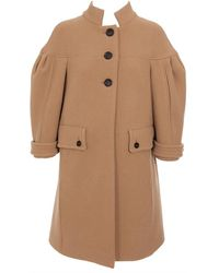 Burberry Prorsum Structural Wool-blend Tulip Coat - Lyst