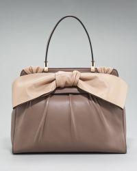 Valentino Aphrodite Bow Bag, Large - Lyst