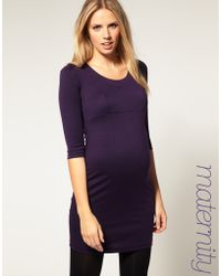 ASOS Collection Asos Maternity Dress in Ponti - Lyst