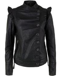 Bolongaro Trevor - Liselli Black Leather Jacket - Lyst