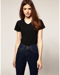 American Apparel T Shirt - Lyst
