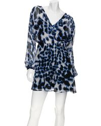 Twelfth Street Cynthia Vincent - Chiffon Cross Front Dress - Lyst