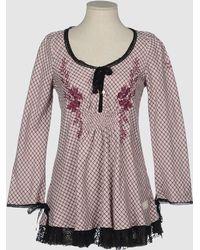 Odd Molly Pink Short Dresses - Lyst