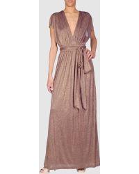 Halston Heritage Long Dresses - Lyst