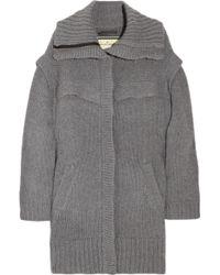 By Malene Birger Gullie Oversized Wool-blend Cardi-coat - Lyst