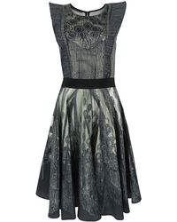 Bolongaro Trevor - Victoria Dark Grey Dress - Lyst