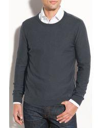 Burberry Brit Check Shoulder Crewneck Sweater - Lyst