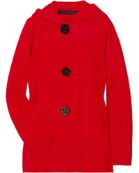 Martin Grant Hooded Wool and Angora-blend Jacket - Lyst