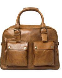 Belstaff - Tour Leather Holdall Bag - Lyst
