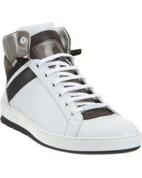 Dior Homme Hightop Sneaker - Lyst