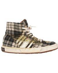 Collection Privée Tartan High Top Sneakers - Lyst