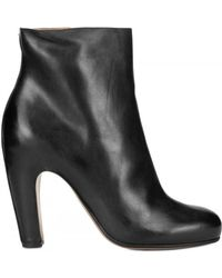 Maison Margiela 100mm Calfskin Low Boots - Lyst