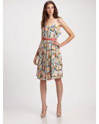 Doo. Ri Belted Silk Dress - Lyst