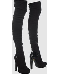 Gucci High Heeled Boots black - Lyst