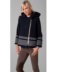 Boy by Band of Outsiders - Woolrich Blanket Parka - Lyst
