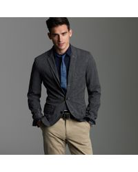 J.Crew Selvedge Cotton Twill Sportcoat in Ludlow Fit - Lyst