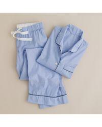 J.Crew Vintage Pajama Set blue - Lyst