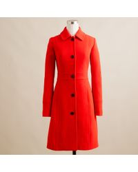 J.Crew Double-cloth Lady Day Coat with Thinsulate® - Lyst