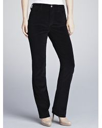 Not Your Daughter's Jeans - Not Your Daughters Jeans Marilyn Straight Leg Cords, Black - Lyst