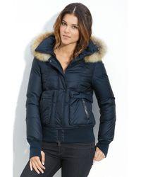 Mackage Fur Trim Jacket - Lyst