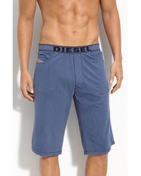 Diesel Blue Ivan Shorts - Lyst